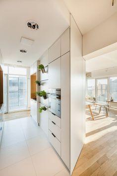 A Penthouse Apartment in Poznan Gets Revamped by Mili Młodzi Ludzie