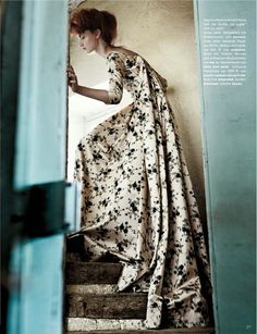 Codie Young as Misia Sert, Lensed By Giampaolo Sgura For Vogue Germany October2013 -