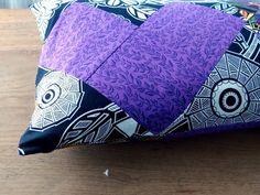 Geometric Heart Pillowcase Pattern - How to make a pillowcase