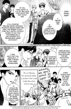 Ouran High School Host Club 70 Page 19 Commoners don't be fooled!