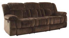 Sectional Sofa Homelegance Laurelton Textured Plush Microfiber Motion Reclining Sofa Chocolate Brown Homelegance http