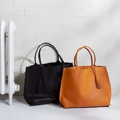Bubo Handmade - Everyday Leather Tote Bag