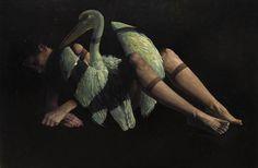 Leda y el Pelicano-