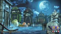 En el cementerio - Imagenes de los Glumpers - Glumpers cartoon pictures