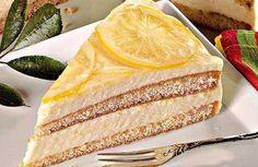 Zitronencreme-Torte