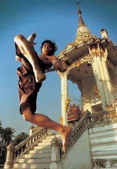 Muay Thai (Thai: มวยไทย, RTGS: Muai Thai, IPA: [mūɛj tʰāj]) is a combat martial art from Thailand that uses stand-up striking along with various clinching techniques.