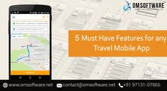 If you are developing Travel Mobile App then you Must Have these Features. App Maker Software, Create Your Own App, Mobile App Development Companies, Must Haves, Marble Floor, Flooring, Technology, Tiles, Apps