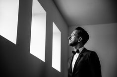 b w groom by Yves Schepers Photography ][www.yvesschepers.be