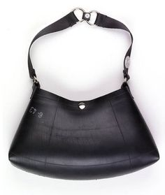recycled tire purse- wonder if it smells