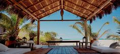 Latitude 10 hotel in Santa Teresa is a seaside paradise of open-air bungalows, swaying hammocks and unspoilt beach.