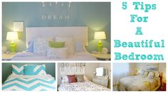 Here are my top 5 favourite tips for transforming your bedroom into a relaxing and beautiful sanctuary! Quick tips to decorate, organize. Where To Buy Bedding, Organizing Your Home, Organizing Tips, Beautiful Bedrooms, Linen Bedding, Decorating Tips, Bed Sheets, Master Bedroom, Toddler Bed