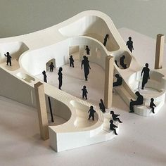 Model by @ehoweler -- Want to be featured? #archisource @archisource -- #archisource #architecture #architects #student #architecturestudent #studentwork #archilovers #architecturelovers #architectureporn #architectural #archiporn #design #section #model #modeling #handmade #amazing #skill #detail #structure #art #organic #curves #people #cutouts #silhouette