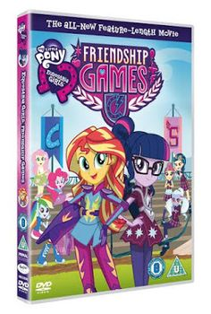 The Brick Castle: My Little Pony - Equestria Girls: Friendship Games DVD Christmas Present Giveaway