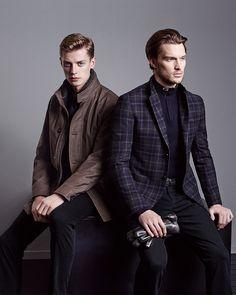 Naturally luxurious: Ermenegildo Zegna FW14 collection #style #menswear
