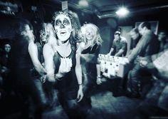 #halloween #halloweenparty #party #black #dark #darkness #concert #concerto #musica #photo #girls #girl #ragazze #ballo #punkrock #rock #crazy #pub #pazzia (presso Crazy Wave Domaso)