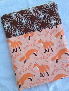 Fox Friends iPad Mini or eReader Case by pogtotes on Etsy, $18.00