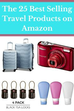 Shopping for travel gear | 25 Best Selling Travel Products on Amazon | What to pack for travel