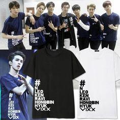 VIXX LIVE SHOW in Taipei concert around N LEO KEN RAVI in same clothes cotton short sleeve T-shirt