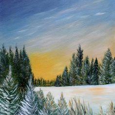 Voir l'image grand format Oil On Canvas, Mountains, Nature, Painting, Travel, Image, Art, Landscapes, Art Background