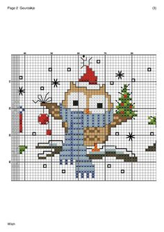Christmas Owl 2 of 3