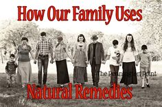 Some of the simple ways we use natural remedies for our family via The Pennington Point