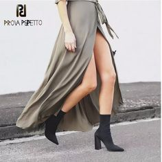 Women's Shoes Shoes Disciplined Women Toe Over The Knee Boots Ladies Autumn Winter High Heels Boots Sexy Thigh High Boots Botas Mujer Superior Materials