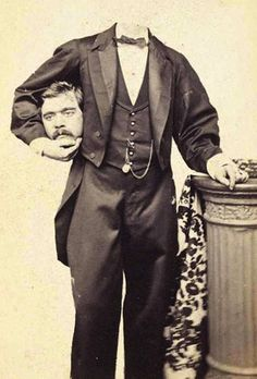 Whoever says that the Victorians were boorish clearly has no clue. This photo illustrates the point.