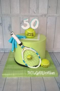 Trendy Birthday Cake For Men Sports Products 21 Ideas Birthday Cakes For Men, 70th Birthday Cake, Tennis Cupcakes, Tennis Cake, Folder Decorado, Sports Themed Cakes, Bithday Cake, Dad Cake, Sport Cakes