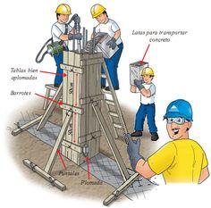 Building Stone, Building Design, Building A House, Civil Engineering Design, Civil Engineering Construction, Industrial Architecture, Architecture Details, Concrete Formwork, House Construction Plan