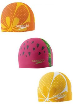 Speedo Silicone Swim Cap for Kids