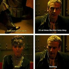 Bwahahaha!!! I Love Capaldi's Doctor more and more! His dry wit and timing, and the Brilliant Insanity is phenomenal #DoctorWho
