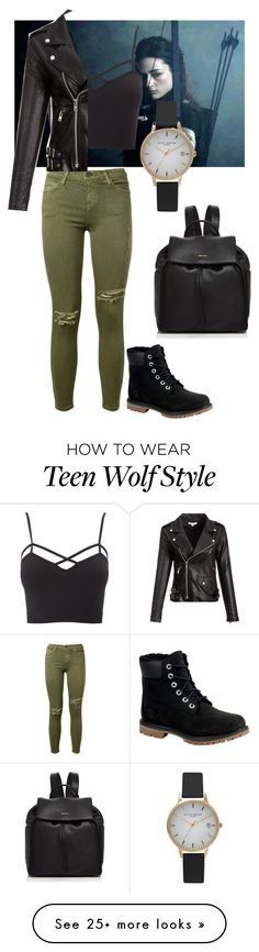 """""""Alison Argent"""" by mylifeasagirl10 on Polyvore featuring Charlotte Russe, Current/Elliott, Timberland, Olivia Burton, DKNY and plus size clothing"""