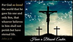 Remember why we are celebrating Easter - He arose from the grave. He died because of His saturating love for us. Celebrate His day with joy and praise in His name!!