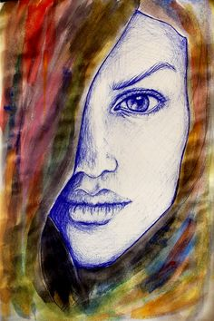 @anaartworks my  illustrations #fashion #illustration #birodrawing #watercolor
