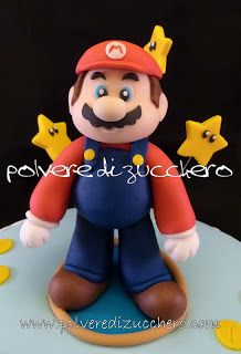 Mario Bros sugar paste