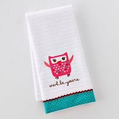 Owl Be Yours dishtowel! Adorable! Take an extra 15% off with this coupon code: http://cpn.cd/yBzO1y These towels are only $2.38!