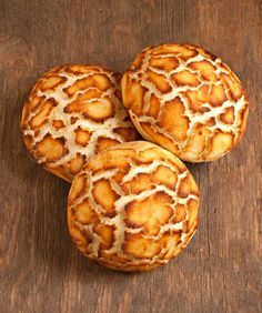 Dutch Crunch Bread: Made with a rice flour topping that cracks into an attractive leopard pattern.