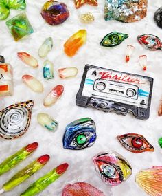 These lipsticks, mixtapes, and colorful crystals are all edible and can be made at home.
