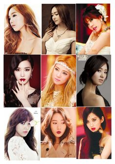 """""""my favorite k pop band snsd (aka) girls generation. from oldest to youngest taeyeon, jessica, sunny, tiffany, hyohyun, yuri, soo hyung, yoona, and seohyun."""" by nakaylathor ❤ liked on Polyvore featuring beauty, Krystal and IPKN"""