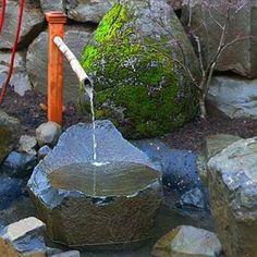 Look into Tsukubai Water Fountains, Japanese Backyard Design Concepts