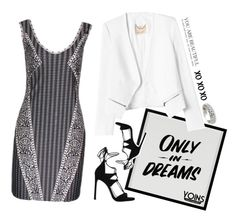 """""""Only In Dreams"""" by savvy-licious on Polyvore featuring Baron Von Fancy, Rebecca Taylor, Stuart Weitzman and xO Design"""