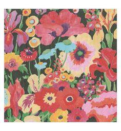 English Flower Paper Napkins Caspari Ivory Coromandel Garden