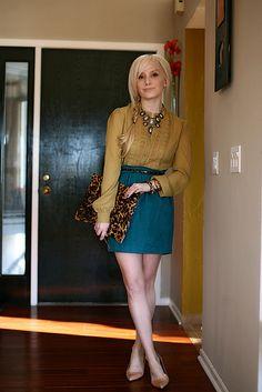 yellow/mustard blouse