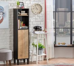 Ladder Decor, Tall Cabinet Storage, Entryway, New York, Furniture, Black, Home Decor, Products, Hall