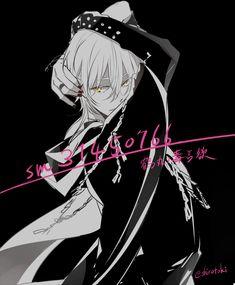 Touken Ranbu Nakigitsune, Anime Guys, Manga Anime, Boy Character, Cartoon, Boys, Heart, Drawing, Style