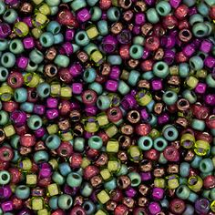 Size 11 Vineyard Round Japanese Seed Bead Mix by FusionBeads.com® | Fusion Beads
