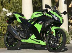 2013 Kawasaki Ninja 300 ABS #motorcycles
