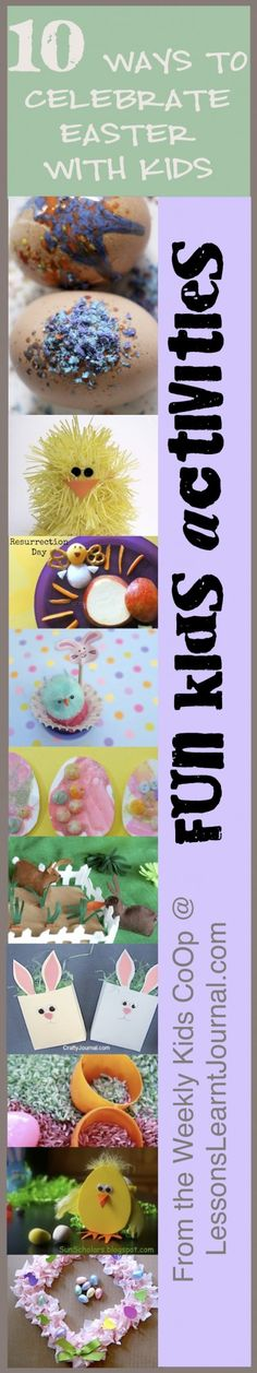 Easter for kids: 10 ways to celebrate Easter with children, from the Weekly Kids Co-Op.