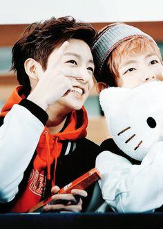 Jungkook and V!