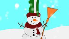 Der tanzende Schneemann ein deutsches Kindergartenlied zum mitsingen und...